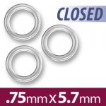 57mm Closed Jump Ring Image