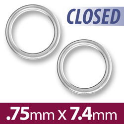 74mm Closed Jump Ring Image