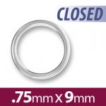 9mm Closed Jump Ring Image