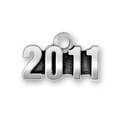 Pewter 2011 Charm Image