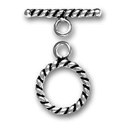 Pewer Large Twist Toggle And Bar Image