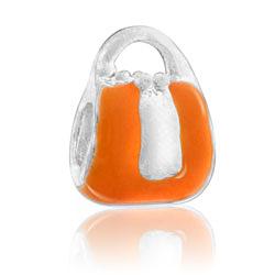 Orange Purse Bead Image