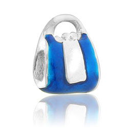 Blue Purse Bead Image