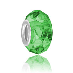 Emerald Glass Bead Image
