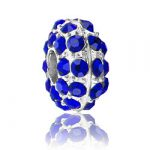 Sapphire Rhinestone Bead Image
