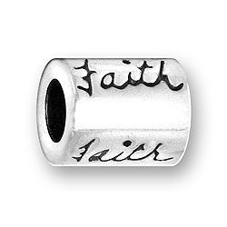 Pewter Faith Bead Image