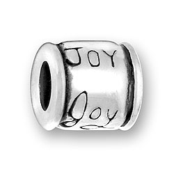 Pewter Joy Bead Image