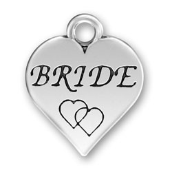 Pewter Bride Charm Image