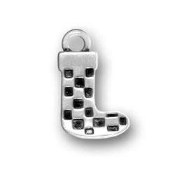 Pewter Stocking Charm Image