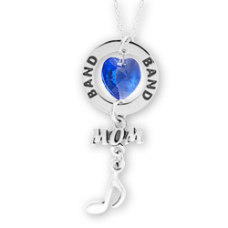 Band Mom Affirmation Necklace Image