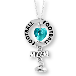 Football Mom Affirmation Necklace Image