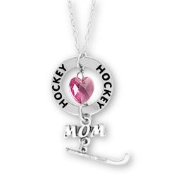 Hockey Mom Affirmation Necklace Image