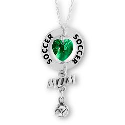 Soccer Mom Affirmation Necklace Image