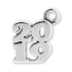 Sterling Silver 2019 Charm