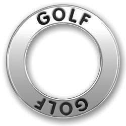 Pewter Golf Affirmation Ring Image