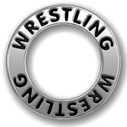 Pewter Wrestling Affirmation Ring Image