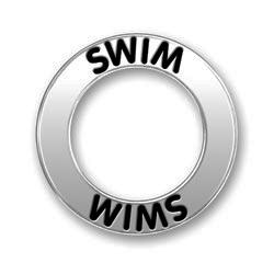 Pewter Swim Affirmation Ring Image