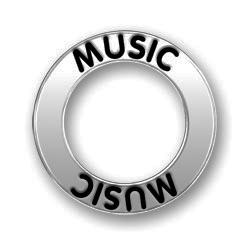 Pewter Music Affirmation Ring Image