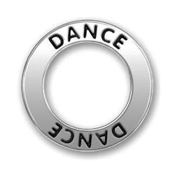 Pewter Dance Affirmation Ring Image