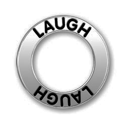 Pewter Laugh Affirmation Ring Image