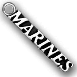 Pewter Marines Charm Image