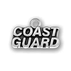 Pewter Coast Guard Charm Image