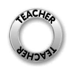 Pewter Teacher Affirmation Ring Image