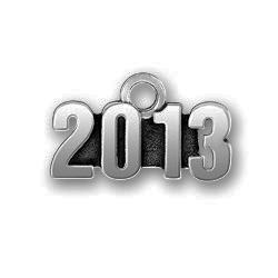 Pewter 2013 Charm Image