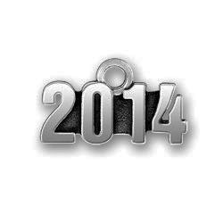 Pewter 2014 Charm Image