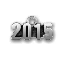 Pewter 2015 Charm Image