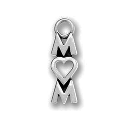 Pewter Mom With Heart Image