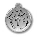 Pewter I Am With You Always Image