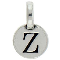 Round Pewter Z Charm Image
