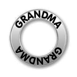 Pewter Grandma Affirmation Ring Image