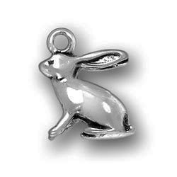 Pewter Rabbit Charm Image