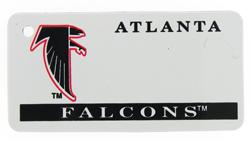 Custom Engraved Atlanta Falcons Key Tag Image