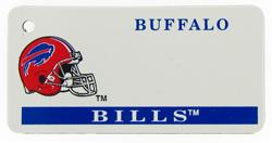 Custom Engraved Buffalo Bills Key Tag Image