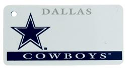 Custom Engraved Dallas Cowboys Key Tag Image