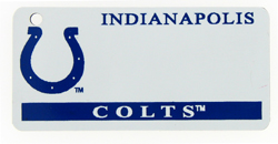 Custom Engraved Indianapolis Colts Key Tag Image