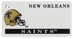 Custom Engraved New Orleans Saints Key Tag Image