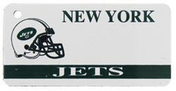 Custom Engraved New York Jets Key Tag Image