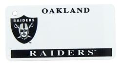 Custom Engraved Oakland Raiders Key Tag Image