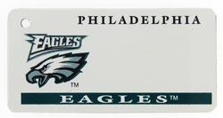 Custom Engraved Philadelphia Eagles Key Tag Image
