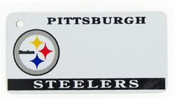 Custom Engraved Pittsburgh Steelers Key Tag Image