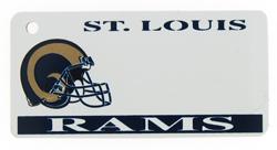 Custom Engraved Saint Louis Rams Key Tag Image