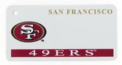 Custom Engraved San Francisco 49ers Key Tag Image