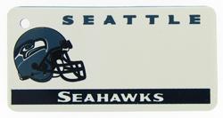 Custom Engraved Seattle Seahawks Key Tag Image