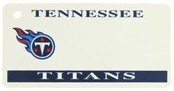 Custom Engraved Tennessee Titans Key Tag Image