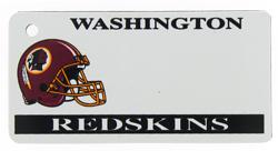 Custom Engraved Washington Redskins Key Tag Image