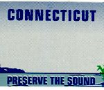 Custom Engraved Connecticut Key Tag Image